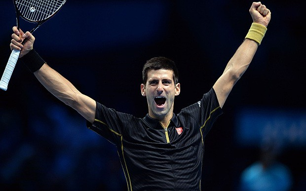 Novak Djokovic beats Tomas Berdych at ATP Tour Finals to confirm position as world No 1 at end of 2014
