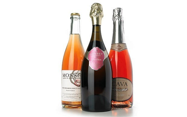 Wine tasting notes: pink fizz for the bank holiday weekend