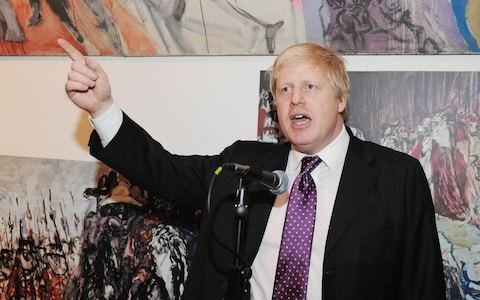 Boris Johnson's passion for painting is no portrait of deceit, but the love affair of a lifetime