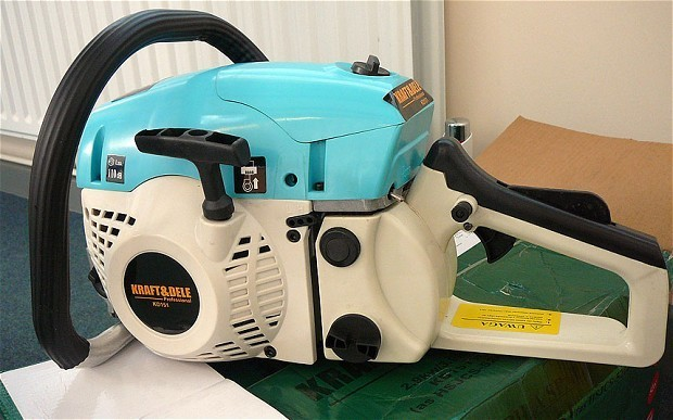 'Dangerous' chainsaws seized at Dover