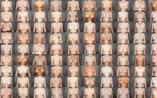 What photographing 100 pairs of naked breasts taught me about women
