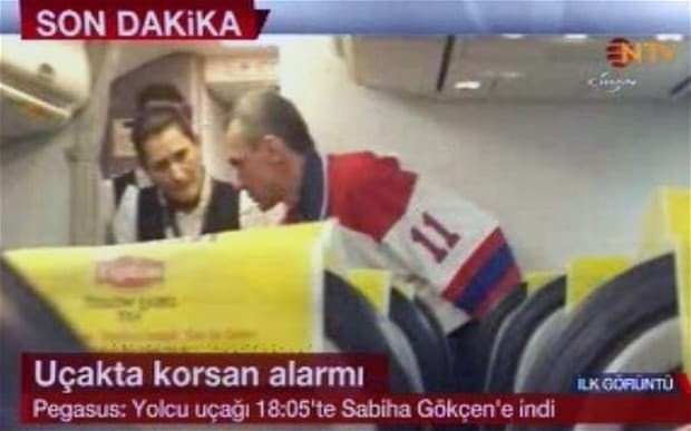 Winter Olympics: Bomb threat forces plane from Ukraine to land in Turkey after hijack attempt
