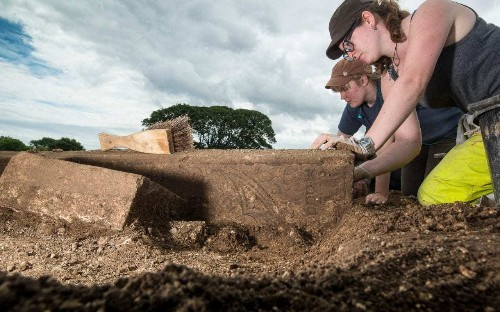 Grave of medieval priest with mysterious head injury uncovered in Lincolnshire