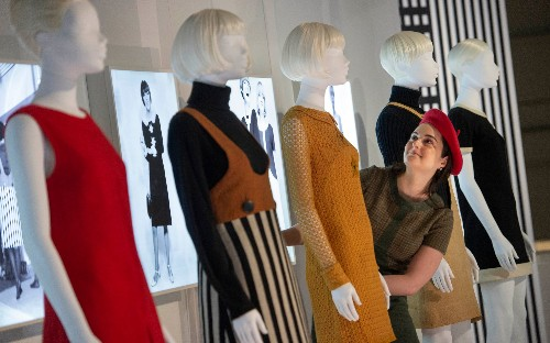 Mary Quant exhibition at the V&A, in pictures