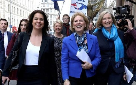 Change UK tactical voting row: Anna Soubry criticises Heidi Allen as party fails to win single seat at European elections
