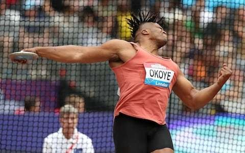 British discus record holder Lawrence Okoye makes surprise return to action at Anniversary Games