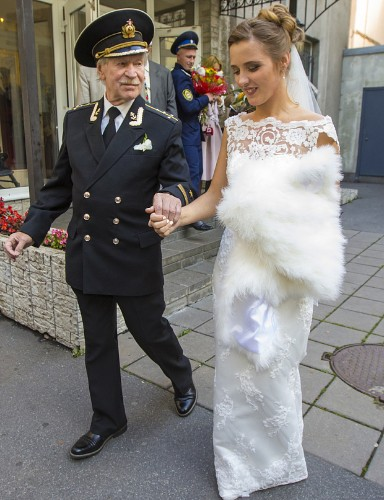 Soviet film legend Ivan Krasko, 84, marries 24-year-old student