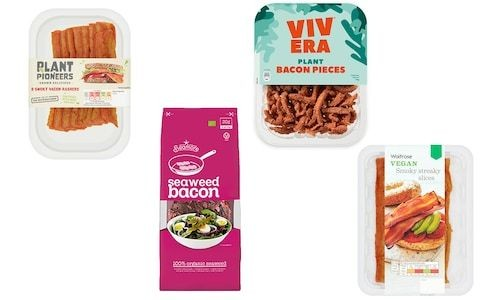Can vegan bacon really mimic the taste of the real thing? We put six of the best to the test