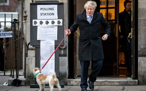 General election 2019: voters head to the polls, in pictures