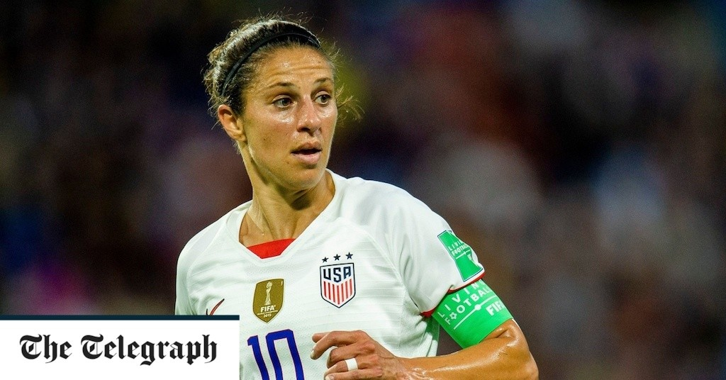 Carli Lloyd to retire after next year's Olympics