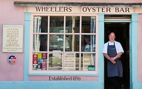 A seafood celebration at Whitstable's iconic Wheelers Oyster Bar