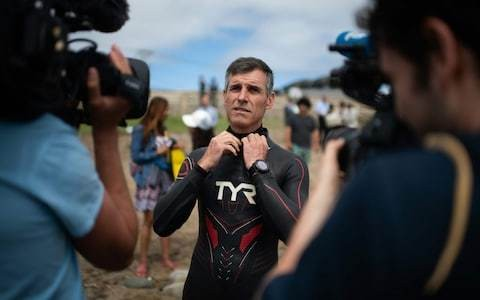 For trans-Pacific swimmer Benoit Lecomte, monotony will be biggest test to overcome
