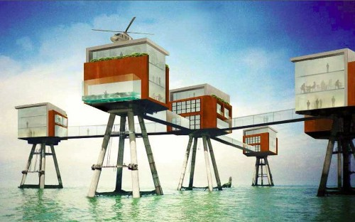 Second World War sea forts could become luxury hotel