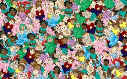 Can you spot the sleeping baby? Brain teaser proves harder than putting a little one to sleep