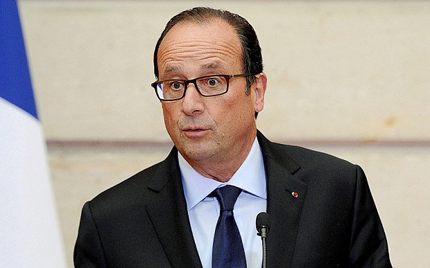 Two-thirds of French want Hollande to quit
