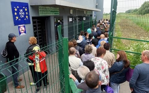 'It's a nightmare': the reality of European border controls in a small Polish town