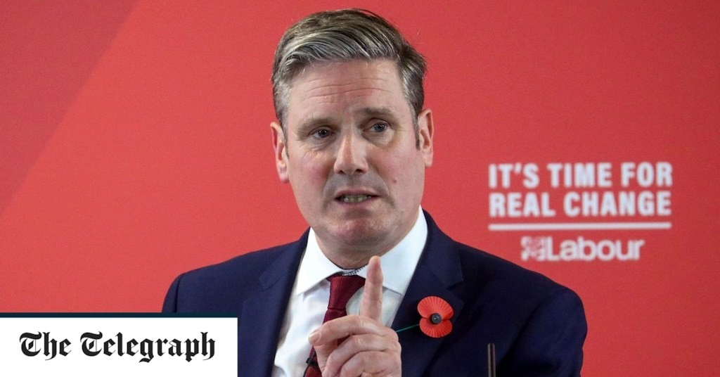 Labour must discover its patriotism to win back disaffected working class voters, Keir Starmer to say