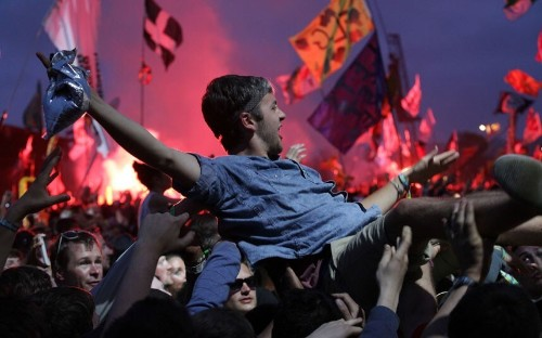 20 pictures from Glastonbury 2013 - Telegraph