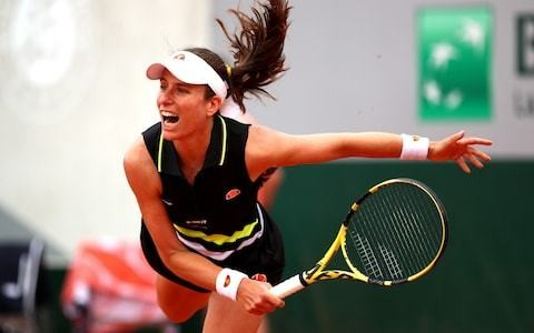 Johanna Konta ends run of four first-round French Open exits with victory over Antonia Lottner