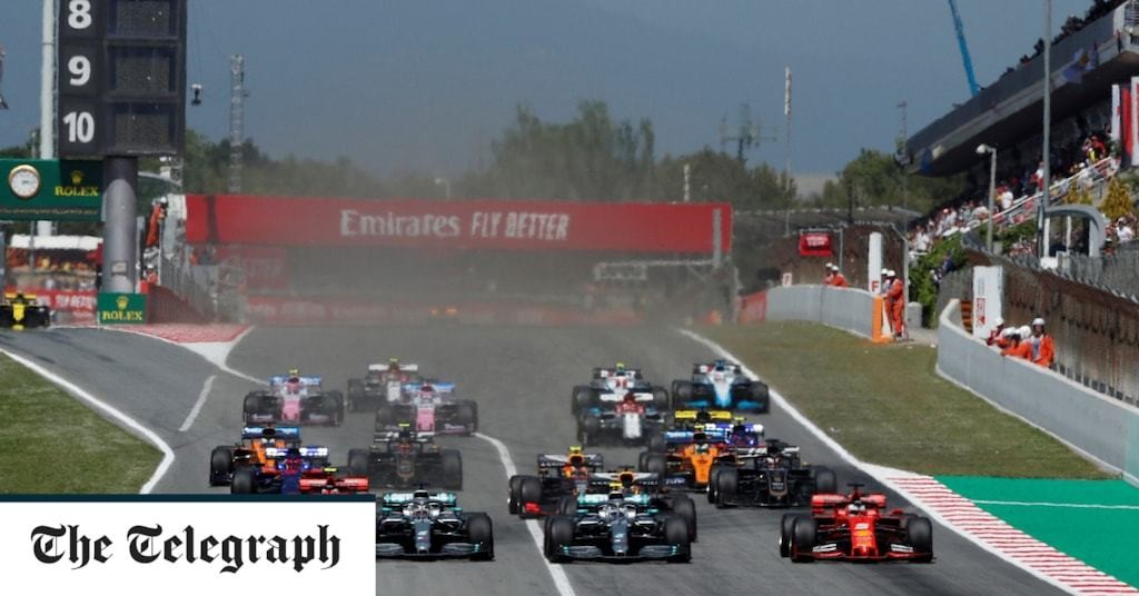 Spanish Grand Prix 2020: What time does the F1 race start, what TV channel is it on and what are the odds?