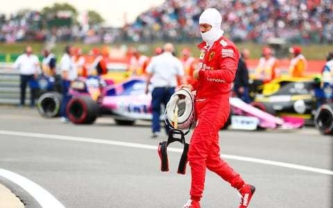 Miserable British Grand Prix bookends Sebastian Vettel's worst 12 months in F1