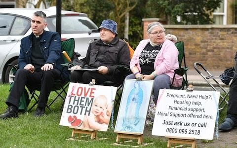 Abortion clinic buffer zones ruled legal by Court of Appeal as it says protesters can be forced 100m away