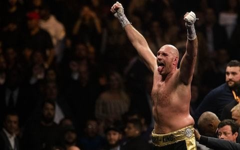 Tyson Fury's rising from the canvas in final round was a second resurrection for indomitable Briton