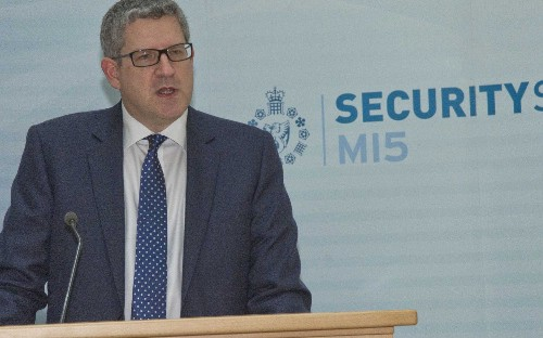Lack of regulation of 'wild west' web is 'mystifying,' says head of the security service MI5