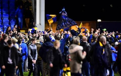 Shrewsbury fans' incursion onto the pitch was not malevolent - but it did show up those trying to belittle the FA Cup
