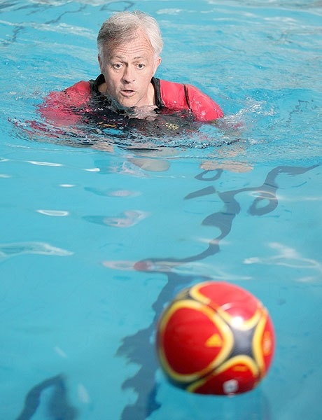 Another Englishman makes it big at Real as Terry Nelson's buoyancy suit helps Cristiano Ronaldo and Gareth Bale
