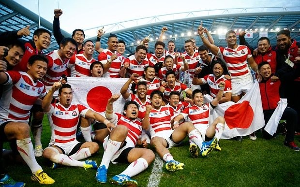 Rugby World Cup: shocked Japan enjoys its 'fairytale' win over South Africa