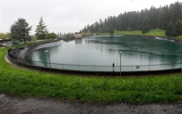 38 million gallon reservoir drained after teenager caught urinating