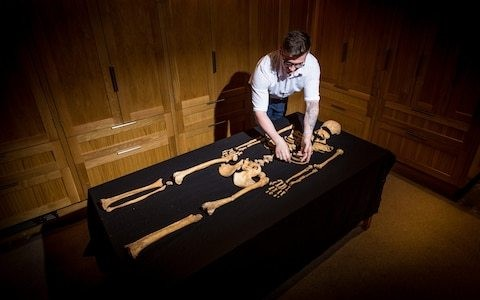 Complete skeletons of mother and child found in Tower of London