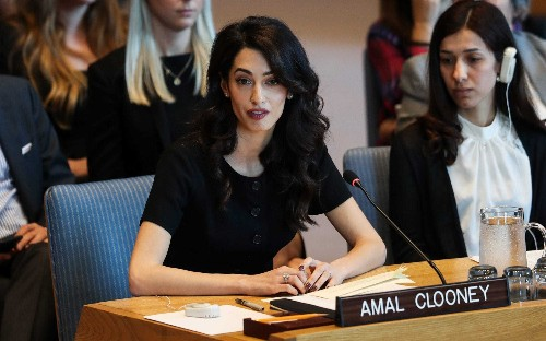 Maldives hires Amal Clooney to join fight for Rohingya at UN court