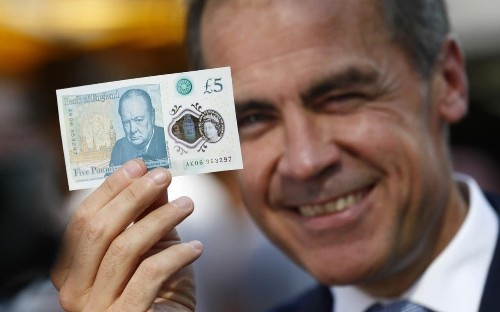 Bank of England yields to vegan pressure over plastic fivers
