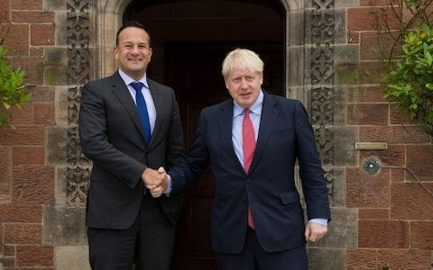 Thursday afternoon news briefing: Boris Johnson and Leo Varadkar 'see a pathway to a possible deal' after talks in the Wirral
