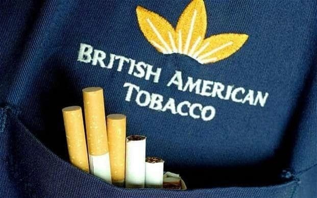 Scientists trying to cure cancer have pensions invested in tobacco industry