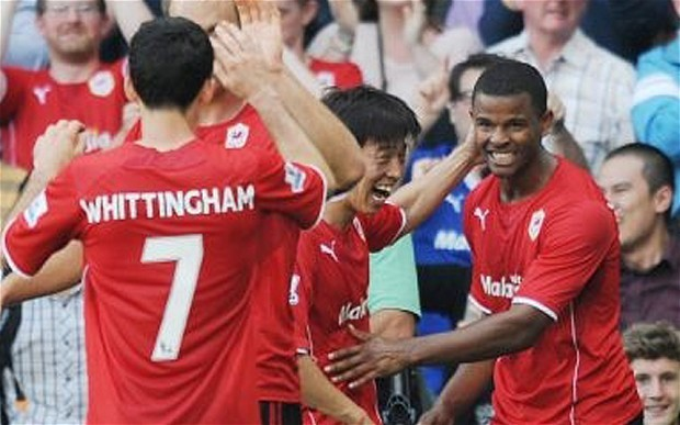 Cardiff City 3 Manchester City 2: match report