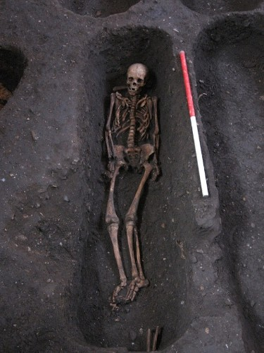 Lost medieval cemetery found under Cambridge University