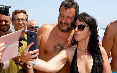 Clouds bring end to Salvini's summer of selfies as celebrity leader plunges Italy into crisis with election gamble