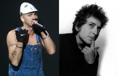 Eminem's vocabulary nearly double Bob Dylan's