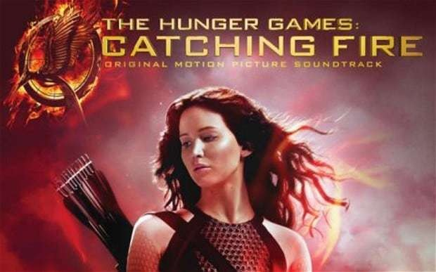 Hunger Games: Catching Fire soundtrack features Coldplay, Lorde and Christina Aguilera