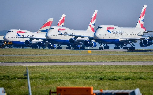 Airlines cancel orders for new planes