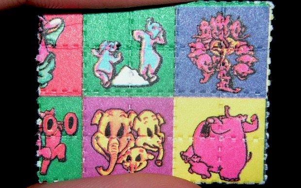 LSD effects - Magazine cover