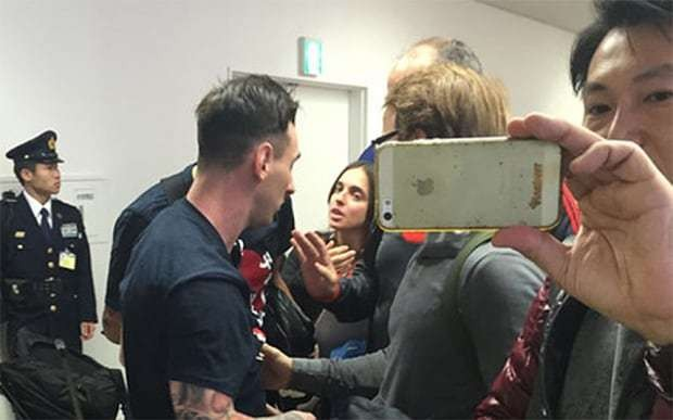 Lionel Messi spat at by River Plate fans in Tokyo after Club World Cup victory