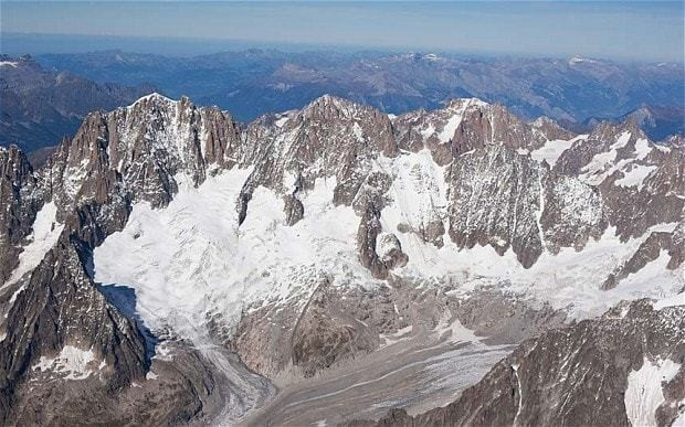 Mont Blanc climber trapped in ice for over 30 years found