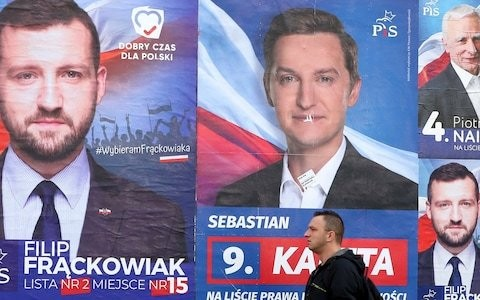 Biased state broadcaster left Polish voters with limited choice in election, report says