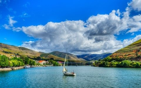 Taking the slow train through Portugal's beautiful Douro Valley