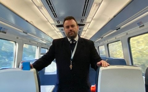I'm proud of breaking the RMT's strike to keep the trains running