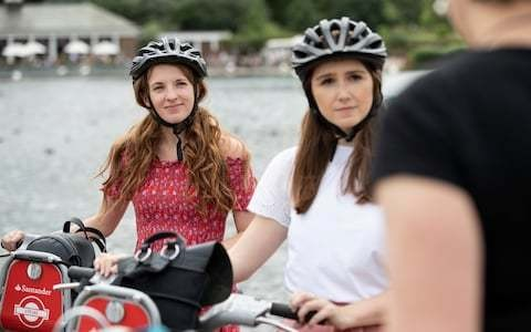 I joined TfL for a female-only bike tour of London – but why do so few women cycle in the capital?